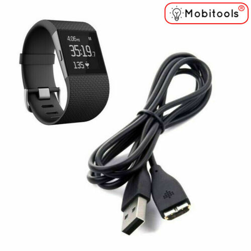 uk USB Charging Cable For Fitbit Surge Smart Watches  Fitness Wristband Y9S2