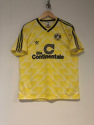 Borussia Dortmund BVB Retroshirt mit Knopfleiste XXL