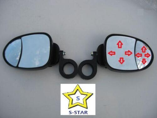 Pair Patent Kawasaki Teryx KRF750  UTV Easy View  Side View Mirror Set