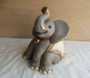alter grosser Thun Bozen Italy Keramik Elefant