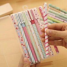 10 pcs Colors Kandelia Korean Stationary Cute Watercolor Pen Gel Pens For School