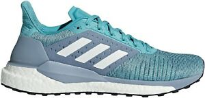 Dynamique Adidas Solar Glide St Boost Womens Running Shoes - Blue