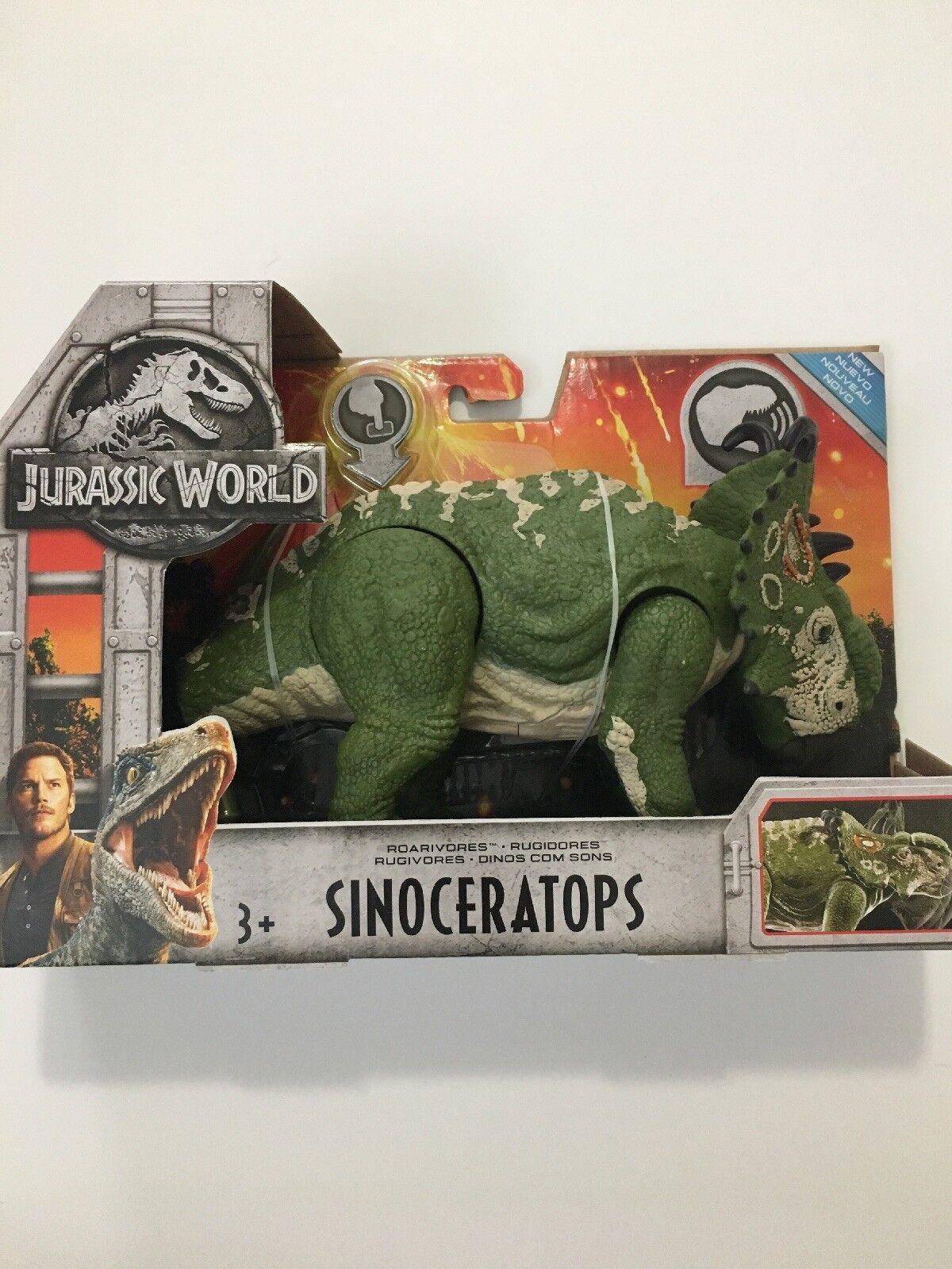 Jurassic World Fallen  Kingdom sinocerahauts Wave 2 roaravores. Jurassic Park  service de première classe