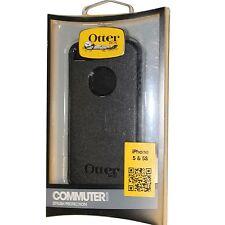 OEM Genuine OtterBox COMMUTER Apple Iphone 5 5S Hard Case Shell Black