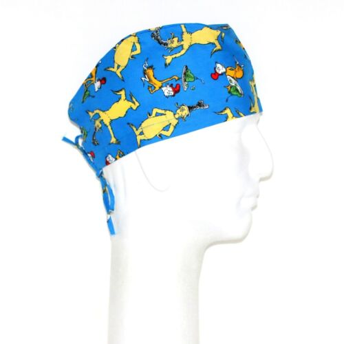 The Cat in the Hat Greece Theme Scrub Hat