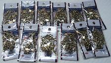 Brass Snap Swivels, Size 5, Lot of 12 Packs, Total of 144 Swivels  #BSS-5