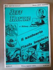 Albi dell' Avventura Serie Jeff Hawke 1977 5-6° Avventura  [G757] BUONO