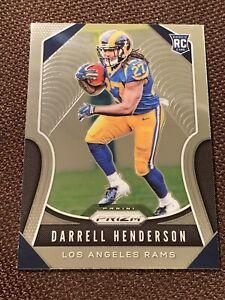 2019 Panini Prizm Football Darrell Henderson   Base RC #330 NFL Rookie Rams