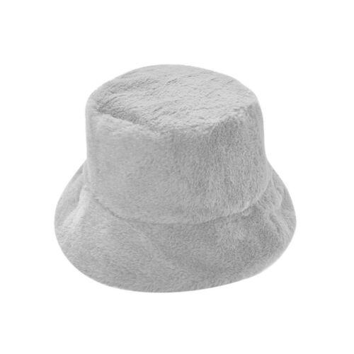 Women Winter Bucket Hat Cute Warm Caps Hunting Fishing Hat Ladies Soft Cap