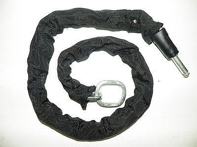 Einsteckkette LTJ 140 cm schwarz für AXA  Defender Victory Kette Schloss