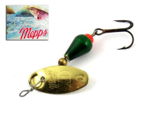 Green T 0 40 mm 2,2 grs French Trout Spinner Cuiller Mepps XD Gold