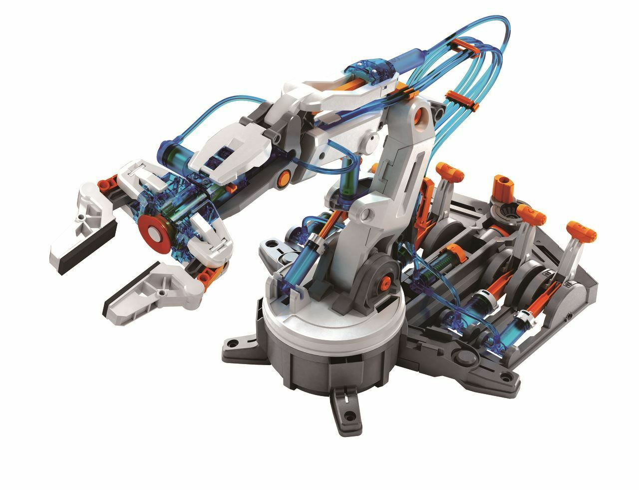 Hydraulische Roboterarm Remote Remote Remote Controlled Kinder Educational Kit bca5fb