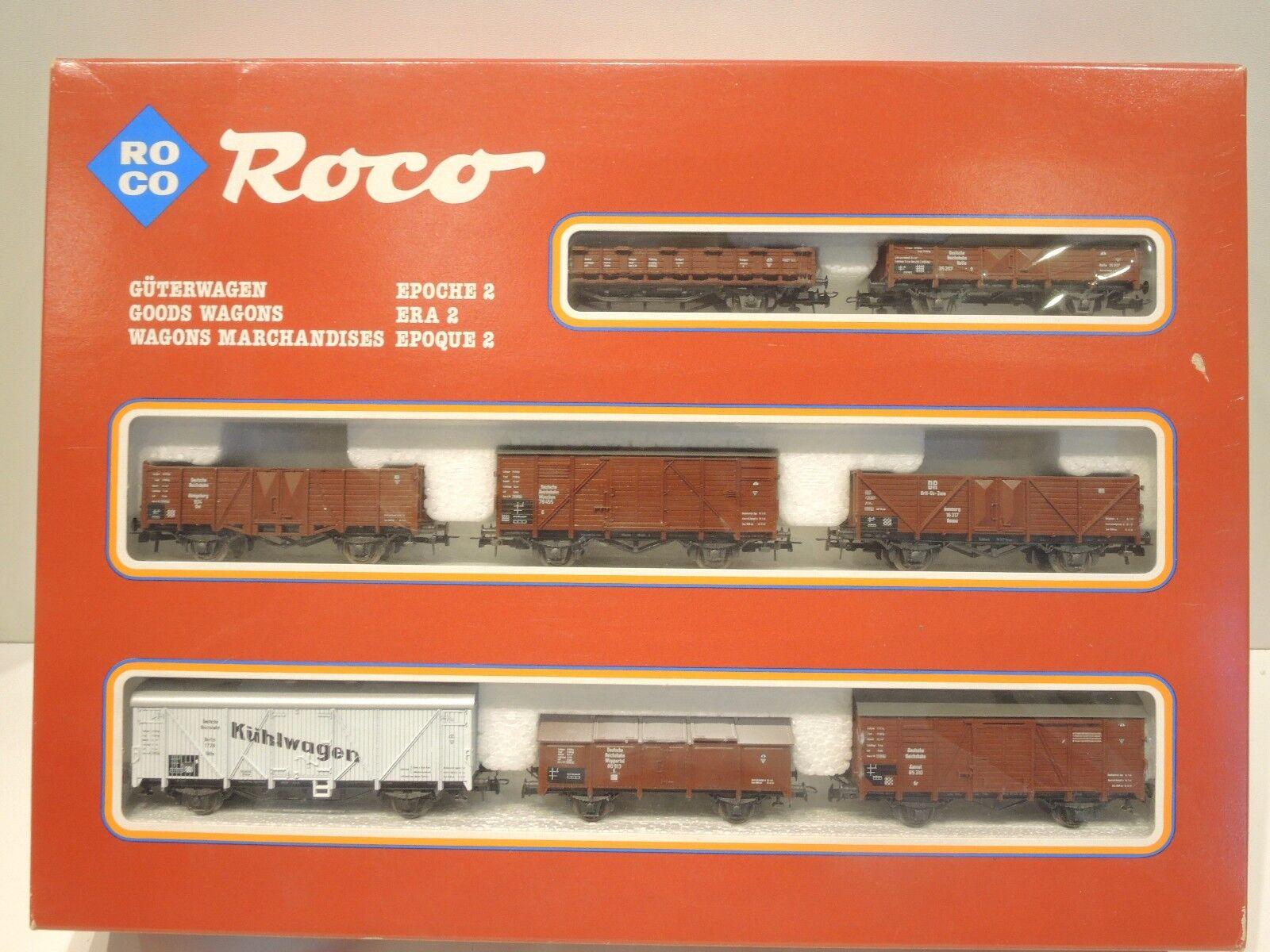 Roco 04057A Güterwagen-Set der DR, Epoche 2, 8-teilig 8-teilig 8-teilig , Top   OVP  | Auktion  1a4504
