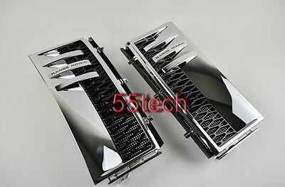 Land Rover Range 2003~2012 Fender Side vent Grille L322 HSE CHROME/Black