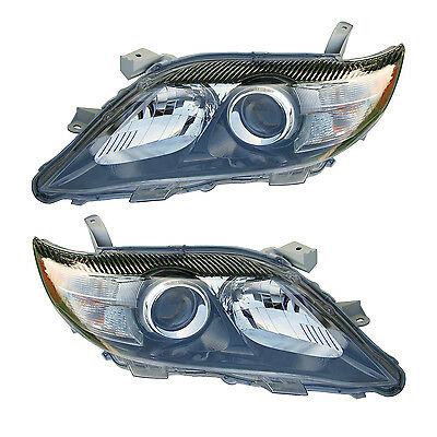 2010 TO 2011 TOYOTA CAMRY  HEADLIGHTS FRONT LAMPS PAIR SET