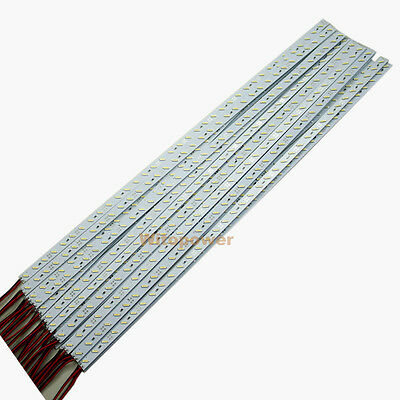 5M 10X 0.5M 5050 5630 7020 36 LEDs Rigid Hard Light Led Bar Strip White Warm 12V