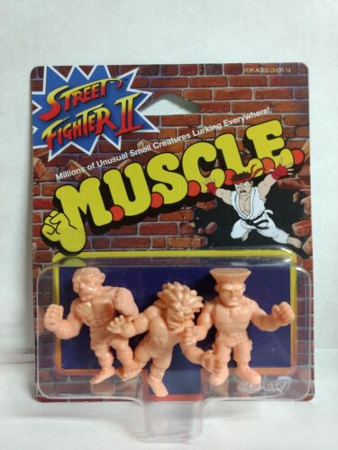 Muscle Blanka /& Sagat Street Fighter 2 Edition Guile