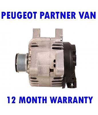 Peugeot Partner Van 1.6 HDI 75 90 HDI 2006 2007 2008-Alternador 2015