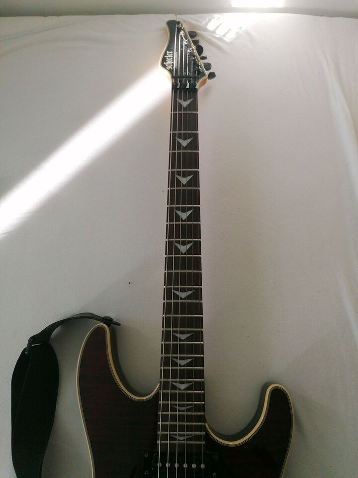Elguitar, Schecter Sunset fr 6 diamond series