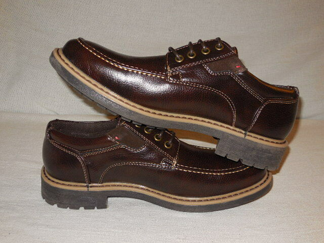 Madden by Steve Madden M-FLAP  Lace Up LUG Oxford  MENS 8.5 M DARK Brown
