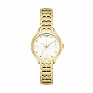 Kate Spade New York KSW1506 Women's Quartz Watch with Stainless Steel Strap NEW