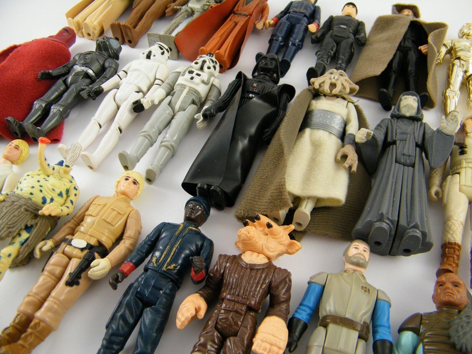 Vintage - star wars personaggi - ti preghiamo scegli dall'assortimento (a)