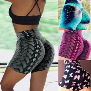 Women-Summer-Shorts-YOGA-Leggings-3D-Printed-Fitness-Sport-GYM-Workout-Hot-Pants