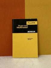 Fluke 609146 8060a True Rms Multimeter Instruction Manual