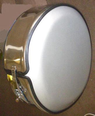 DONL9BAUER Copertura per ruota di scorta universale in pelle con teschio stellato Jee-p Sunproof Coperture per Je/_ep 14 15 16 17 camion SUV camper rimorchio camper e molti veicoli