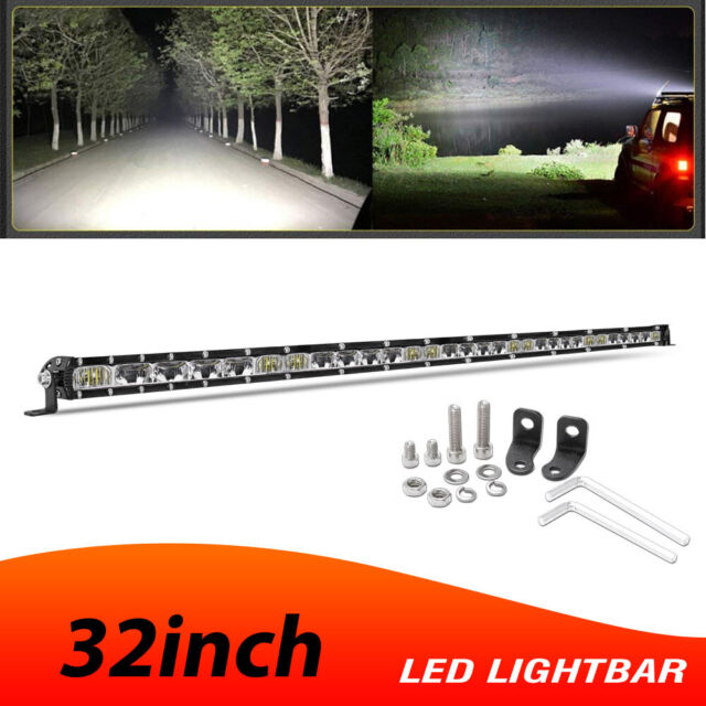 "Slim 32"" 680W Barre LED Light Bar combiné phare de travail Ramp SUV ATV 4x4 4WD"