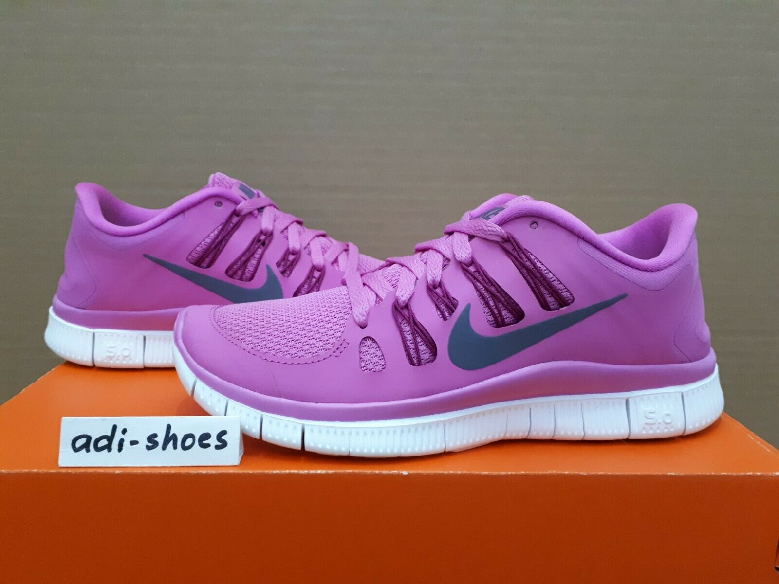 NIKE FREE 5.0+ RED purple US 6,5 7 7,5 transform 580591-500 rn flyknit 3.0 focus