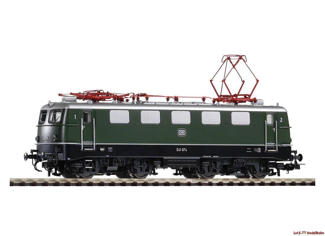H0 e-Lok e 41 verde DB EP. III Piko 51510 nuevo