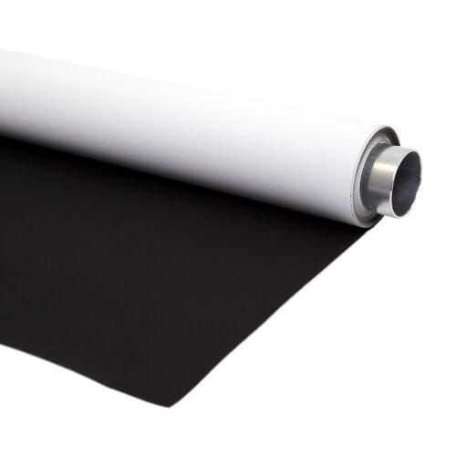 Bessel 1.45m x 4m Portatile Auto Misura Dual Faccia Bianco /& Nero Sfondo Vinile