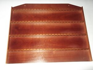 100pc-Wooden-Spoon-Display-Rack-With-Sides-Mahogany-huge-range-see-list