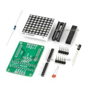 MAX7219 Dot Matrix Module MCU control Led Display Module DIY For