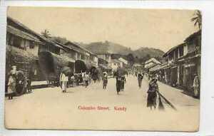 Gq706-407-Colombo-Street-Kandy-CEYLON-c1910-Unused-G-VG