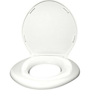 Big John Bariatric Toilet Seat 1 W Closed With Cover White
