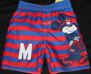 7c10ab0802050 Disney Junior Mickey & the Roadster Racers Mickey Mouse Swim Shorts ...
