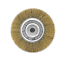 "Crimped Golden Steel Wire Bench Wheel Brush 6/"" x 5//8/"" for DeWalt /& Makita"