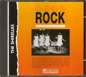 MUSIQUE-CD-LES-GENIES-DU-ROCK-EDITIONS-ATLAS-THE-SHIRELLES-N-27