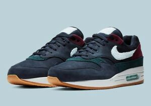 Details about Nike Air Max 1 Premium Crepe Sole Dark Obsidian PRM 2018 Size 9 DS Sportswear