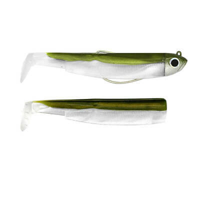 Silver Size 90 by FIIISH Black Minnow 4 Fishing Lure Hooks