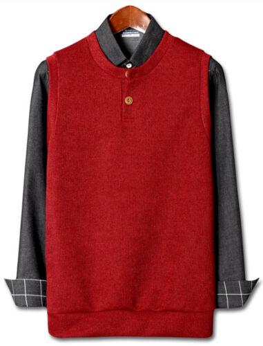 New Mens Stylish Simple Vest Cardigan Sweater Jumper Blazer Jacket Coat Top W258