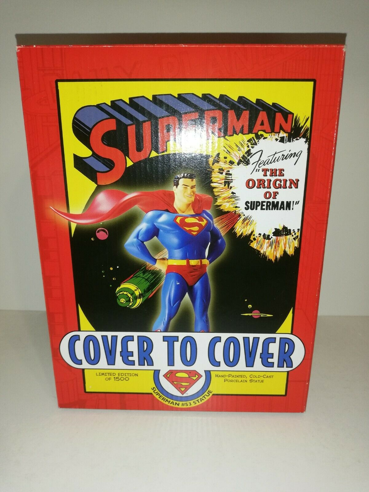 Dc Direct Cover to Cover Superhomme The Origin  of Superhomme  magasin d'usine de sortie