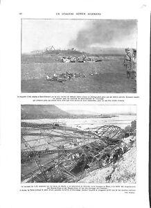 WWI-Zeppelin-L-44-amp-L-45-a-Saint-Clement-amp-Buech-Luftstreitkrafte-A-ILLUSTRATION