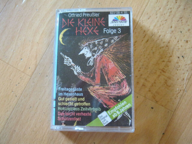 MC Die kleine Hexe Folge 3 Otfried Preußler Tape Spectrum 823 138-4
