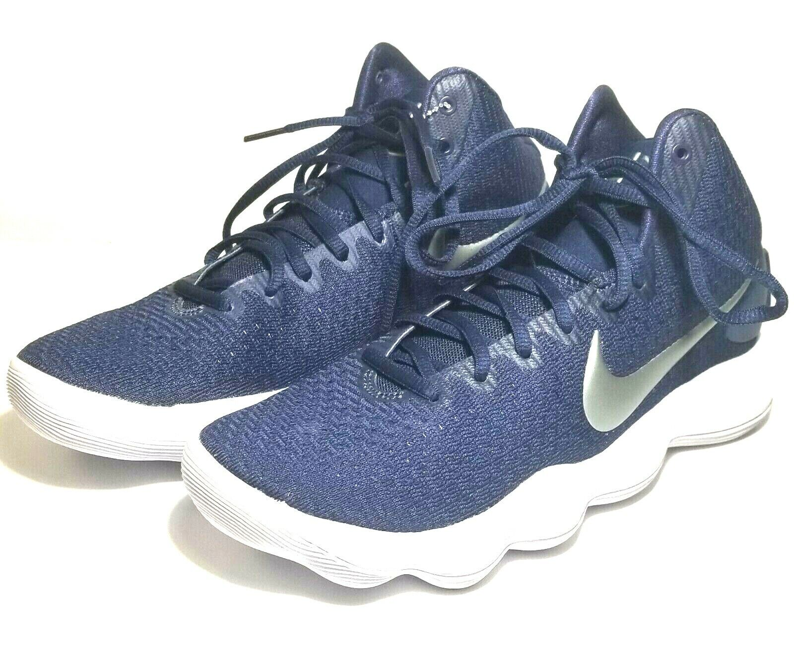 best loved aa952 39ed9 Nike Hyperdunk Hyperdunk Hyperdunk 2017 TB Basketball shoes Navy Silver  897808-400 Mens size 7