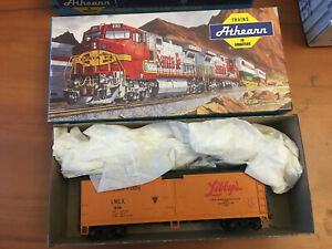 HO-SCALE-TRAIN-FREIGHT-CAR-MODEL-IN-BOX-ATHEARN-LIBBY-039-S