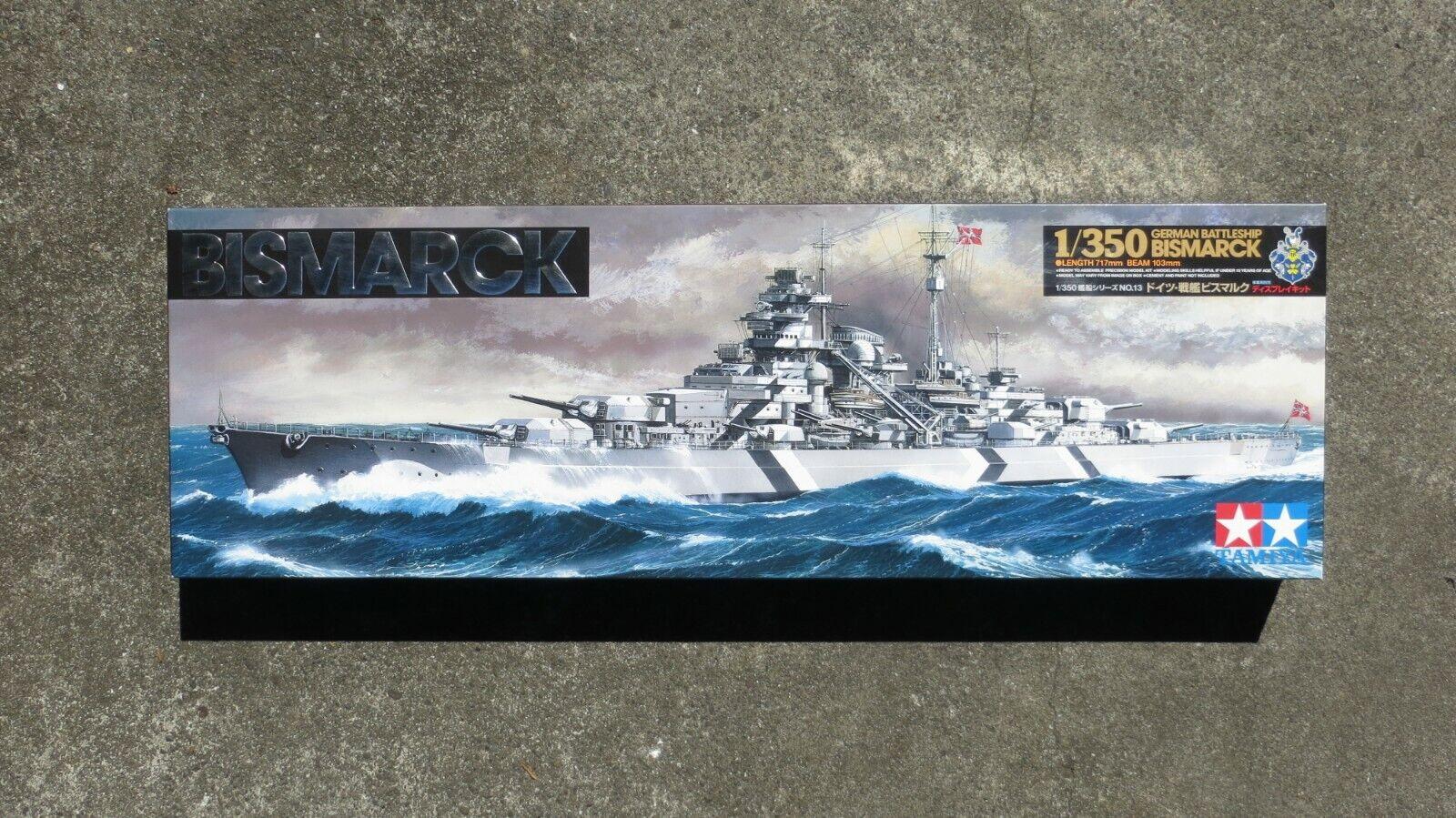 Tamiya 1  350 modellllerlerl Kit japansk slåssship Yamato