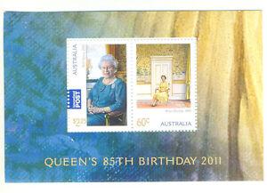 Australie - 85th Anniversaire de la Reine Elizabeth II neuf sans charnière (3587) 2011-Royalty-afficher le titre d`origine nBtFaczZ-07161954-753596378